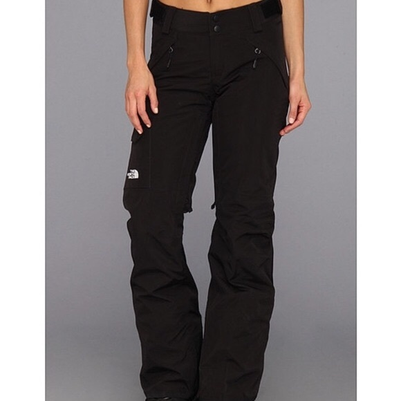 North Face Women's Small Hyvent Snow Pants Black